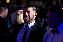 Charles Piutau of Bristol Bears looks on as Bristol Sport hosts their annual Gala Dinner at Ashton Gate Stadium - Rogan/JMP - 05/12/2018 - SPORT - Ashton Gate Stadium - Bristol, England - Bristol Sport Gala Dinner 2018.