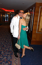 BROOSK SAIB and OLIVIA BUCKINGHAM at the Boodles Boxing Ball in aid of the sports charity Sparks  organised by Jez lawson, James Amos and Charlie Gilkes held at The Royal Lancaster Hotel, Lancaster Terrae London W2 on 3rd June 2006.<br /> <br /> NON EXCLUSIVE - WORLD RIGHTS
