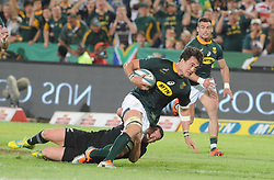 Pretoria, Loftus Versveld Stadium. Rugby Championship. South African Springboks vs New Zealand All Blacks.  06-10-18 Springbok lock Franco Mostert attempts to break away.<br /> Picture: Karen Sandison/African News Agency(ANA)