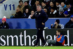 Leicester City Interim First Team Manager Craig Shakespeare gives a thumbs up to his players - Mandatory by-line: Robbie Stephenson/JMP - 27/02/2017 - FOOTBALL - King Power Stadium - Leicester, England - Leicester City v Liverpool - Premier League