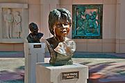 Oprah Winfrey, Performer, Academy of Television Arts & Sciences, Celebrity, Bronze, Sculptures, Sculptural Works, Public Art, Display, North Hollywood, CA