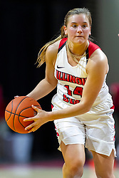NORMAL, IL - January 05: Paige Saylor during a college women's basketball game between the ISU Redbirds and the Purple Aces of University of Evansville January 05 2020 at Redbird Arena in Normal, IL. (Photo by Alan Look)