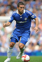 FRANK LAMPARD.CHELSEA FC.CHELSEA V PORTSMOUTH.STAMFORD BRIDGE, LONDON, ENGLAND.17 August 2008.DIU83676..  .WARNING! This Photograph May Only Be Used For Newspaper And/Or Magazine Editorial Purposes..May Not Be Used For, Internet/Online Usage Nor For Publications Involving 1 player, 1 Club Or 1 Competition,.Without Written Authorisation From Football DataCo Ltd..For Any Queries, Please Contact Football DataCo Ltd on +44 (0) 207 864 9121