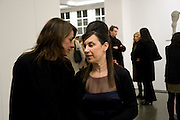 REBECCA WARREN; MAUREEN PALEY, Rebecca Warren exhibition opening at the Serpentine Gallery. London.  9 March  2009 *** Local Caption *** -DO NOT ARCHIVE -Copyright Photograph by Dafydd Jones. 248 Clapham Rd. London SW9 0PZ. Tel 0207 820 0771. www.dafjones.com<br /> REBECCA WARREN; MAUREEN PALEY, Rebecca Warren exhibition opening at the Serpentine Gallery. London.  9 March  2009