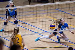 18-03-2017 NED:  Finale NOJK B finalisten, Doetinchem<br /> De B-teams waren de finaledag actief in Doetinchem, waar zij in het Topsportcentrum sportief zullen uitvechten wie zich het komende jaar Nederlands kampioen mag gaan noemen / Irene