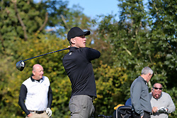 Ollie Clarke of Bristol Rovers joins team Stairs2U as they take part in the annual Bristol Rovers Golf Day - Rogan Thomson/JMP - 10/10/2016 - GOLF - Farrington Park - Bristol, England - Bristol Rovers Golf Day.