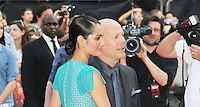 Emma Heming; Bruce Willis, Red 2 European Film Premiere, Empire cinema Leicester Square, London UK, 22 July 2013, (Photo by Richard Goldschmidt)