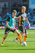 Kamil Grosicki warms up ahead of Markus Henriksen of Hull City prior to the Sky Bet Championship match at Villa Park, Birmingham<br /> Picture by Matt Wilkinson/Focus Images Ltd 07814 960751<br /> 05/08/2017