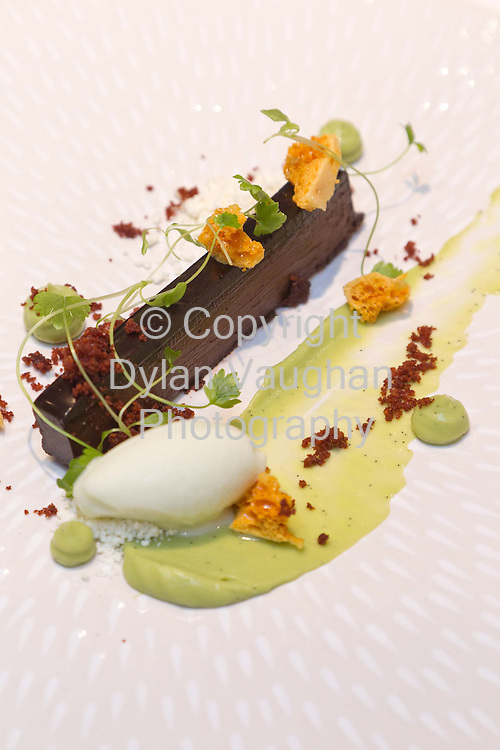 9/1/2012.The Chocolate and Avocado desert at the Tannery Cookery School in Dungarvan County Waterford..Picture Dylan Vaughan...