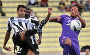 Udine, 18 Settembre 2011.Campionato di calcio Serie A 2011/2012  3^ giornata..Udinese vs Fiorentina. Stadio Friuli..Nella Foto: Danilo spazza anticipa Alessio Cerci..© foto di Simone Ferraro