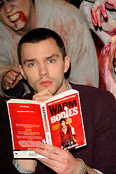 'Warm Bodies' photocall held at the Soho Hotel Featuring: Nicholas Hoult and Teresa Palmer, London, United Kingdom, January 18, 2013, Photo by Chris Joseph / I-images.