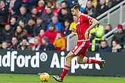 Middlesbrough FC defender Daniel Ayala (4) during the Sky Bet Championship match between Middlesbrough and Nottingham Forest at the Riverside Stadium, Middlesbrough, England on 23 January 2016. Photo by George Ledger.