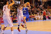 Vannes 17 Giugno 2013 <br /> Eurobasket Women 2013<br /> Italia - Russia<br /> Nella foto: giulia gatti<br /> Foto Ciamillo