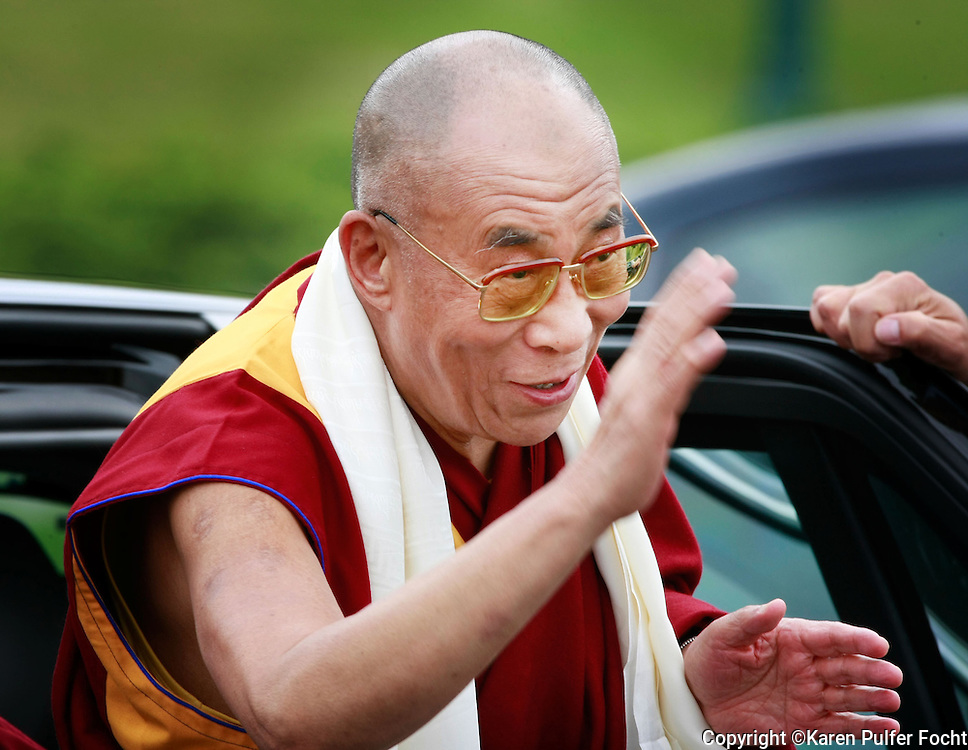 Dalai Lama makes a visit to Memphis Tennessee