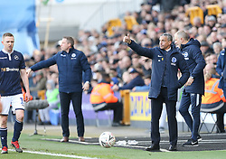 Brighton and Hove Albion manager Chris Hughton gives the thumbs up - Mandatory by-line: Arron Gent/JMP - 17/03/2019 - FOOTBALL - The Den - London, England - Millwall v Brighton and Hove Albion - Emirates FA Cup Quarter Final