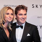 NLD/Amsterdam/20121028 - Inloop premiere nieuwe James Bond film Skyfall, Jeroen van de Boom en partner Dany de Wt