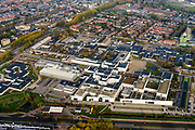 Nederland, Friesland, Joure, 04-11-2018; Medisch Centrum Leeuwarden (MCL), regionaal algemeen ziekenhuis.<br /> Medical Center Leeuwarden (MCL), general regional hospital.<br /> <br /> luchtfoto (toeslag op standaard tarieven);<br /> aerial photo (additional fee required);<br /> copyright © foto/photo Siebe Swart