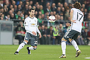 Henrikh Mkhitaryan Midfielder of Manchester United during the Europa League match between Saint-Etienne and Manchester United at Stade Geoffroy Guichard, Saint-Etienne, France on 22 February 2017. Photo by Phil Duncan.