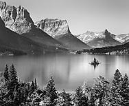 ST. Mary Lake at Glacier National Park
