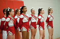 Laconia High School Cheerleading Squad February 21, 2012.