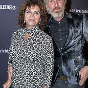 NLD/Amsterdam/20171018 - Premiere De Verleiders: Stem Kwijt, Henriette Tol en partner Rob Snoek