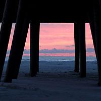Wildwood Crest, New Jersey, pier at sunrise