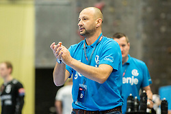 Zeljko Babic, head coach of RK Gorenje Velenje during handball match between RK Gorenje Velenje and Kadetten Schaffhausen in VELUX EHF Champions League, on November 25, 2017 in Rdeca Dvorana, Velenje, Slovenia. Photo by Ziga Zupan / Sportida