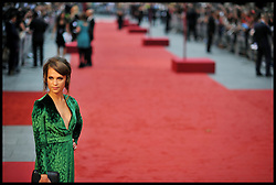 Alicia Vikander arrives for the - UK film premiere of Anna Karenina, London, Tuesday September 4, 2012 Photo Andrew Parsons/i-Images..All Rights Reserved ©Andrew Parsons/i-Images