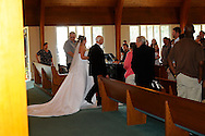 The marriage ceremony of Vicky M. Ondeka & Mark A. Bungard on Saturday, April 25, 2009 at Faith Lutheran Church in Avon, Ohio.