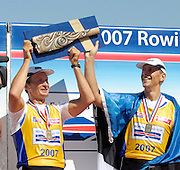Lucerne, SWITZERLAND,  A Finals, at the 2007 FISA World Cup, Lucerne, on the Rotsee Lake, 15/07/2007  [Mandatory Credit Peter Spurrier/ Intersport Images] , Rowing Course, Lake Rottsee, Lucerne, SWITZERLAND.