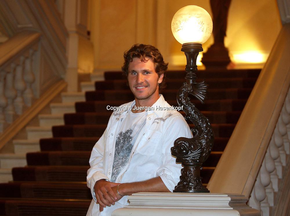 Tennis Profi Mischa Zverev (GER) ,privat,Portraet,