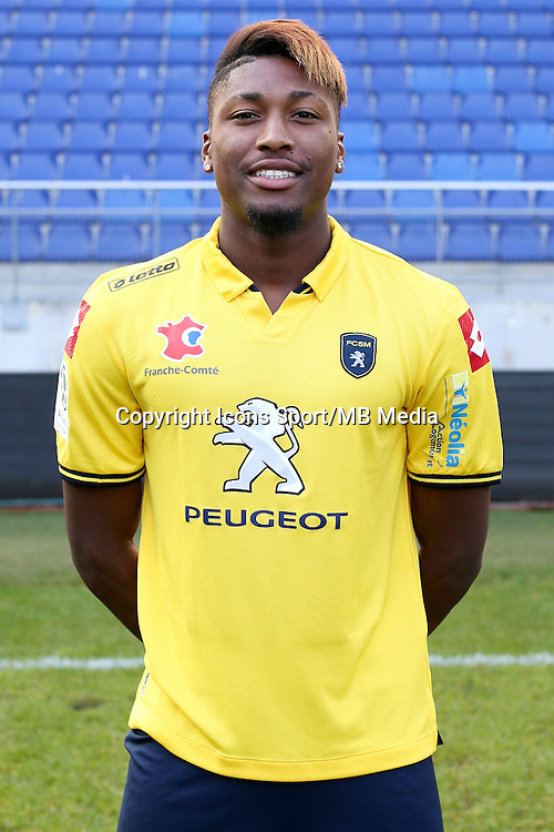 Romain HABRAN - 04.10.2014 - Photo officielle Sochaux - Ligue 2 2014/2015<br /> Photo : Icon Sport