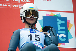 PYLYPCHUK Tetiana (UKR) during practice round on Day 1 of FIS Ski Jumping World Cup Ladies Ljubno 2020, on February 22th, 2020 in Ljubno ob Savinji, Ljubno ob Savinji, Slovenia. Photo by Matic Ritonja / Sportida