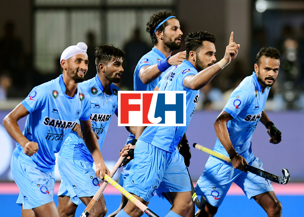 Odisha Men's Hockey World League Final Bhubaneswar 2017<br /> Match id:21<br /> India v Germany<br /> Foto: Harmanpreet Singh (Ind) scored 2-1<br /> COPYRIGHT WORLDSPORTPICS FRANK UIJLENBROEK