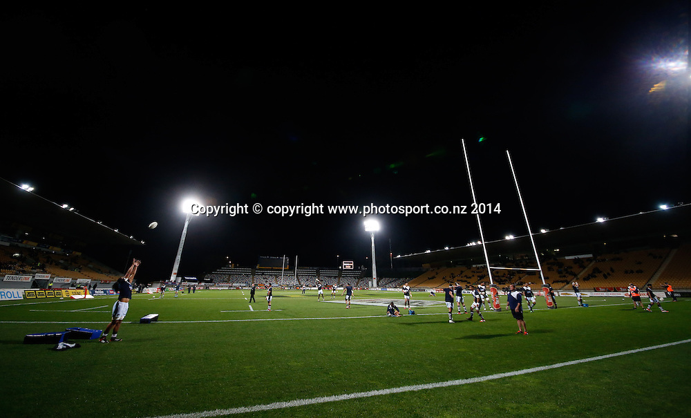 ITM Cup Rugby, Taranaki v Auckland, Yarrow Stadium, New Plymouth, New Zealand. Friday, 26 September, 2014. Photo: John Cowpland / www.photosport.co.nz