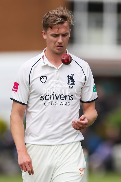 Craig Miles of Warwickshire during the Specsavers County Champ Div 1 match between Yorkshire County Cricket Club and Warwickshire County Cricket Club at York Cricket Club, York, United Kingdom on 17 June 2019.
