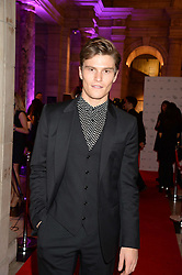 OLIVER CHESHIRE at the WGSN Global Fashion Awards held at the V&A museum, London on 30th October 2013.