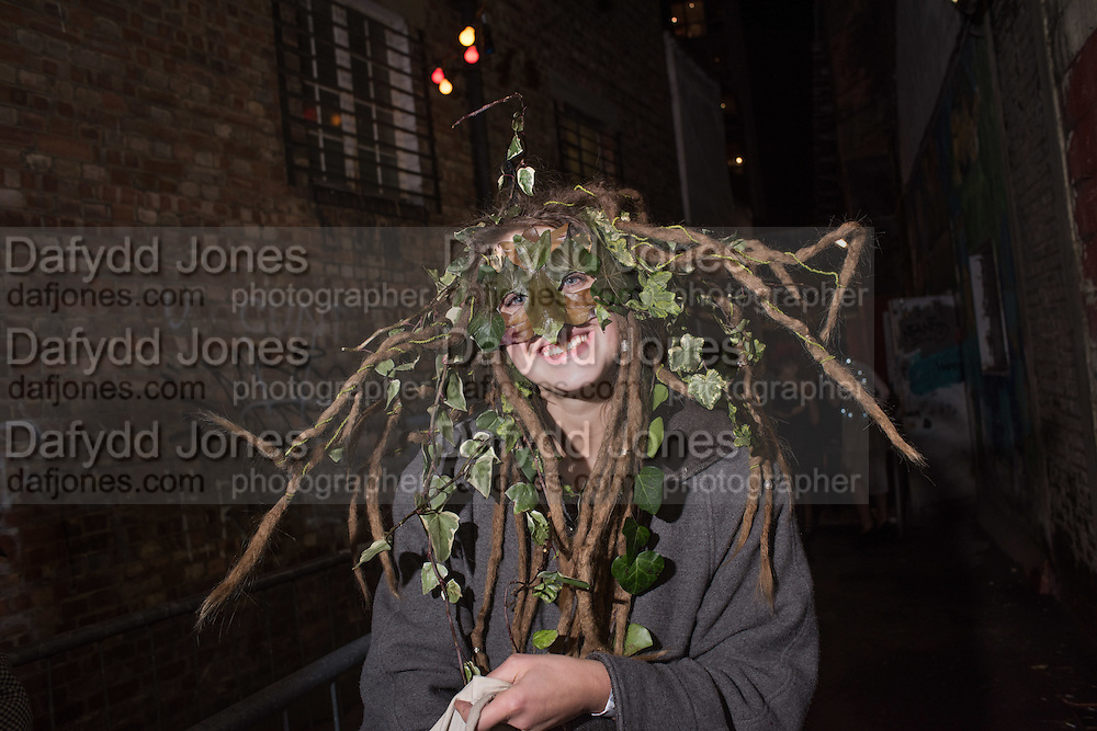 JOHANNA WAHLSTROM, LOST HEARTS , A VALENTINE'S MASQUERADE BALL 2016 at the Coronet Theatre,  Elephant and Castle, London. 12th February 2016