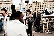 Frankrig valg reportage, Marseille er præget af mange forskellige nationaliteter.