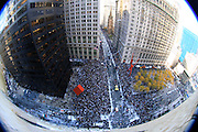 World Series Yankees Parade New York Broadway 2009