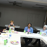 The Monroe County Master Gardeners met for their monthly meeting at the county's extension service and hosted Sandra Roy, Cheryl Storey and Susan Tackett, who are representatives of the Northeast District of the Mississippi Master Gardener Association.