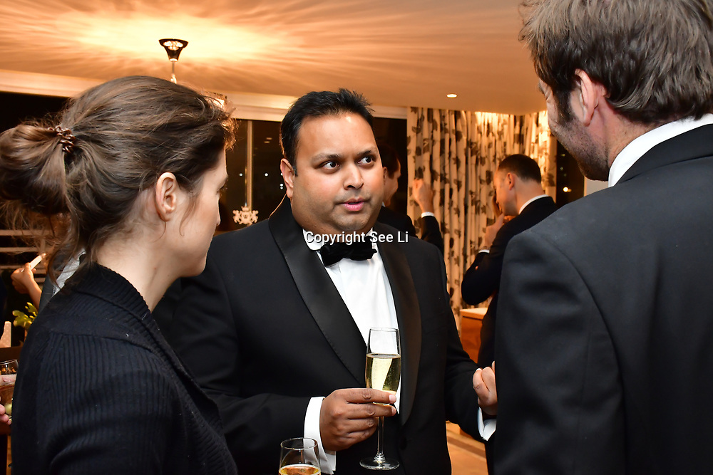 Kevin Rochay is a Chairman  of Rochay High Society Soiree with Jovoy at Westbury Mayfair grafton suite on 21 November 2019, London, UK.