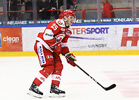 2020-02-12 | Ljungby, Sweden: Troja-Ljungby (25) Mattias Åkesson during the game between IF Troja / Ljungby and Huddinge IK at Ljungby Arena ( Photo by: Fredrik Sten | Swe Press Photo )<br /> <br /> Keywords: Ljungby, Icehockey, HockeyEttan, Ljungby Arena, IF Troja / Ljungby, Huddinge IK, fsth200212, ATG HockeyEttan, Allettan