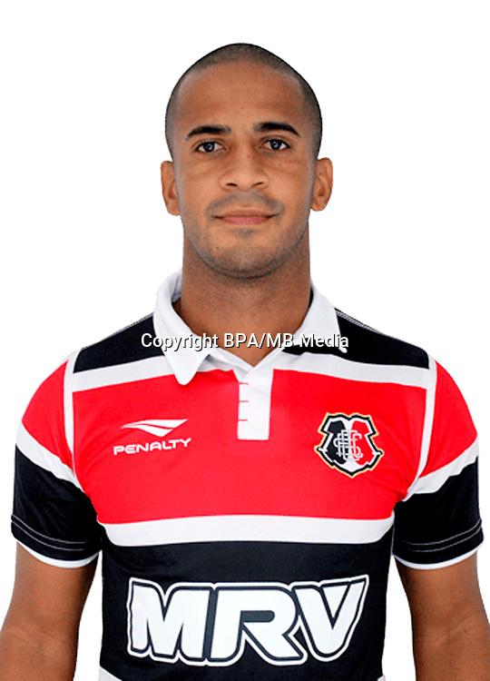 Brazilian Football League Serie B 2017 / <br /> ( Santa Cruz Futebol Clube ) - <br /> Edson Luiz Martins dos Santos - Pereira