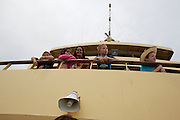 Aboard the ferry from Manly to Circular Quay.