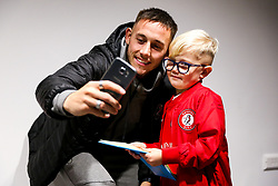 Josh Brownhill of Bristol City as mascots meet the players - Rogan/JMP - 10/12/2019 - Ashton Gate Stadium - Bristol, England - Bristol City v Milwall FC - Sky Bet Championship.