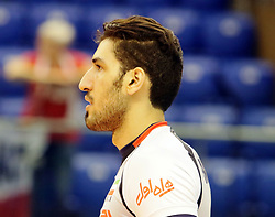 September 12, 2018 - Varna, Bulgaria - Mohammadjavad MANAVINEZHAD (Iran), .FIVB Volleyball Men's World Championship 2018, pool D, Iran vs Puerto Rico,. Palace of Culture and Sport, Varna/Bulgaria, .the teams of Finland, Cuba, Puerto Rico, Poland, Iran and co-host Bulgaria are playing in pool D in the preliminary round. (Credit Image: © Wolfgang Fehrmann/ZUMA Wire)