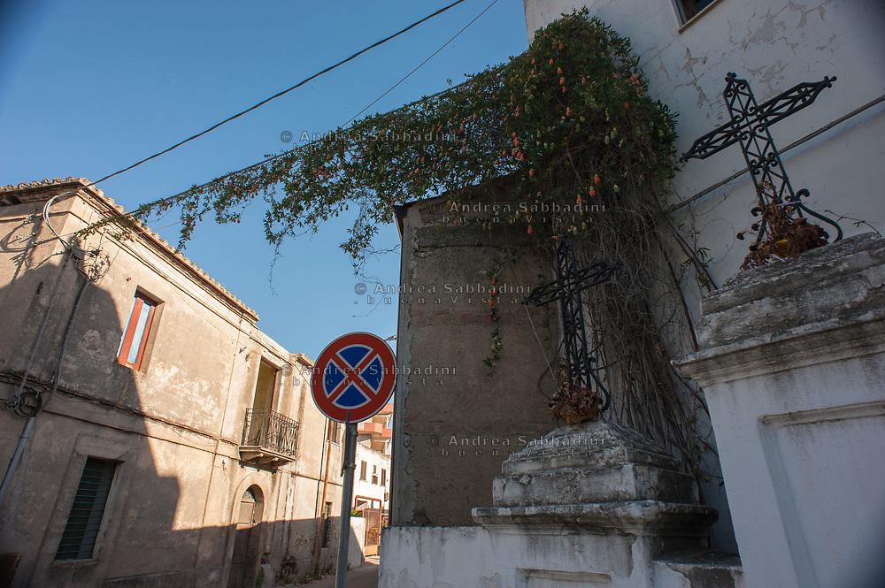 Locri, 03/07/2017: vista del paese<br /> &copy; Andrea Sabbadini