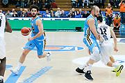 DESCRIZIONE : Trento Lega A 2015-16 Dolomiti Energia Trentino Vanoli Cremona<br /> GIOCATORE : Luca Vitali Marco Cusin<br /> CATEGORIA : Palleggio Blocco<br /> SQUADRA : Dolomiti Energia Trentino Vanoli Cremona<br /> EVENTO : Campionato Lega A 2015-2016<br /> GARA : Dolomiti Energia Trentino Vanoli Cremona<br /> DATA : 24/01/2016<br /> SPORT : Pallacanestro <br /> AUTORE : Agenzia Ciamillo-Castoria/G. Contessa<br /> Galleria : Lega Basket A 2015-2016 <br /> Fotonotizia : Trento Lega A 2015-16 Dolomiti Energia Trentino Vanoli Cremona