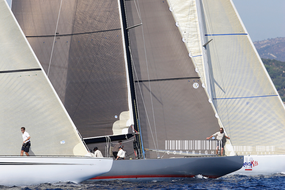 12 M JI START.VOILES DE SAINT TROPEZ 2007. COPYRIGHT : THIERRY SERAY